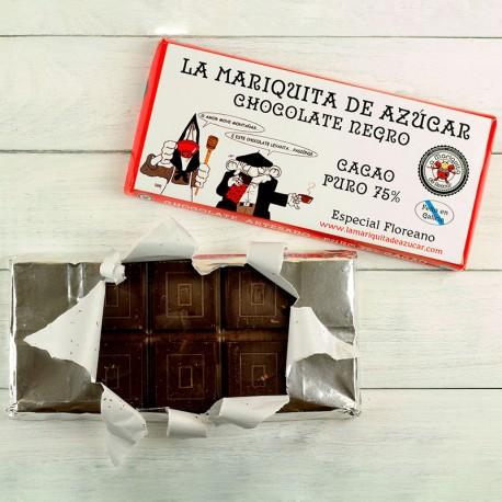 Chocolate Negro a la Taza 75% Cacao ESPECIAL FOREANO