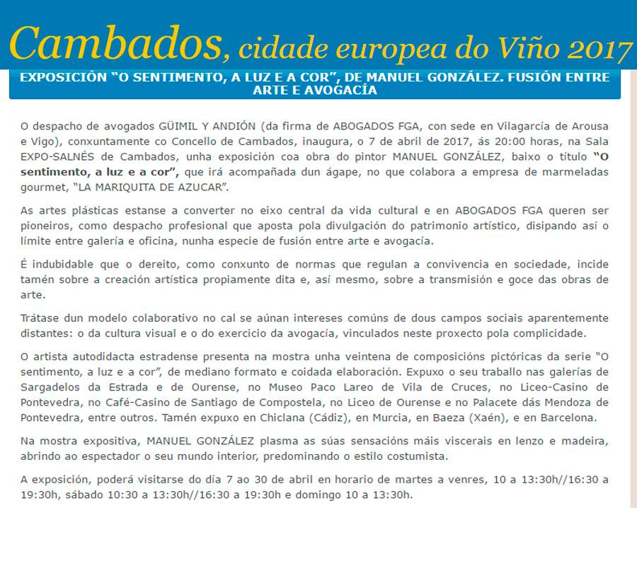 Cambados - Cidade Europea do Viño - La Mariquita de Azúcar