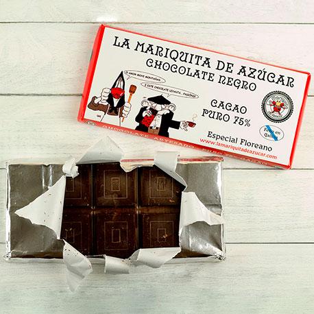 Chocolate Negro a la Taza 75% Cacao