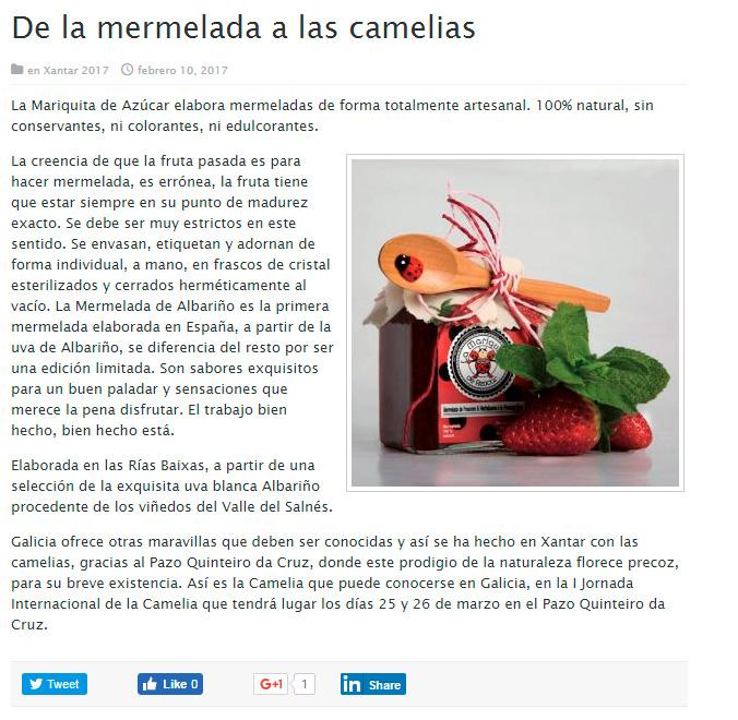 De la mermelada a las camelias - Viajes Turismo