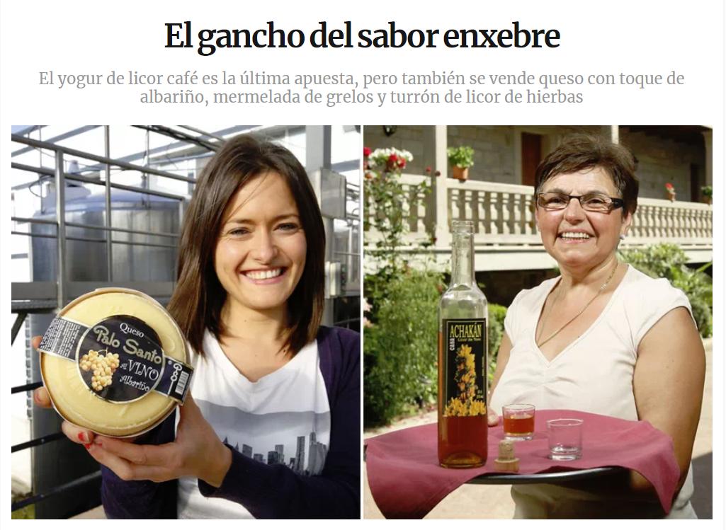 La Mariquita de Azúcar en La Voz de Galicia